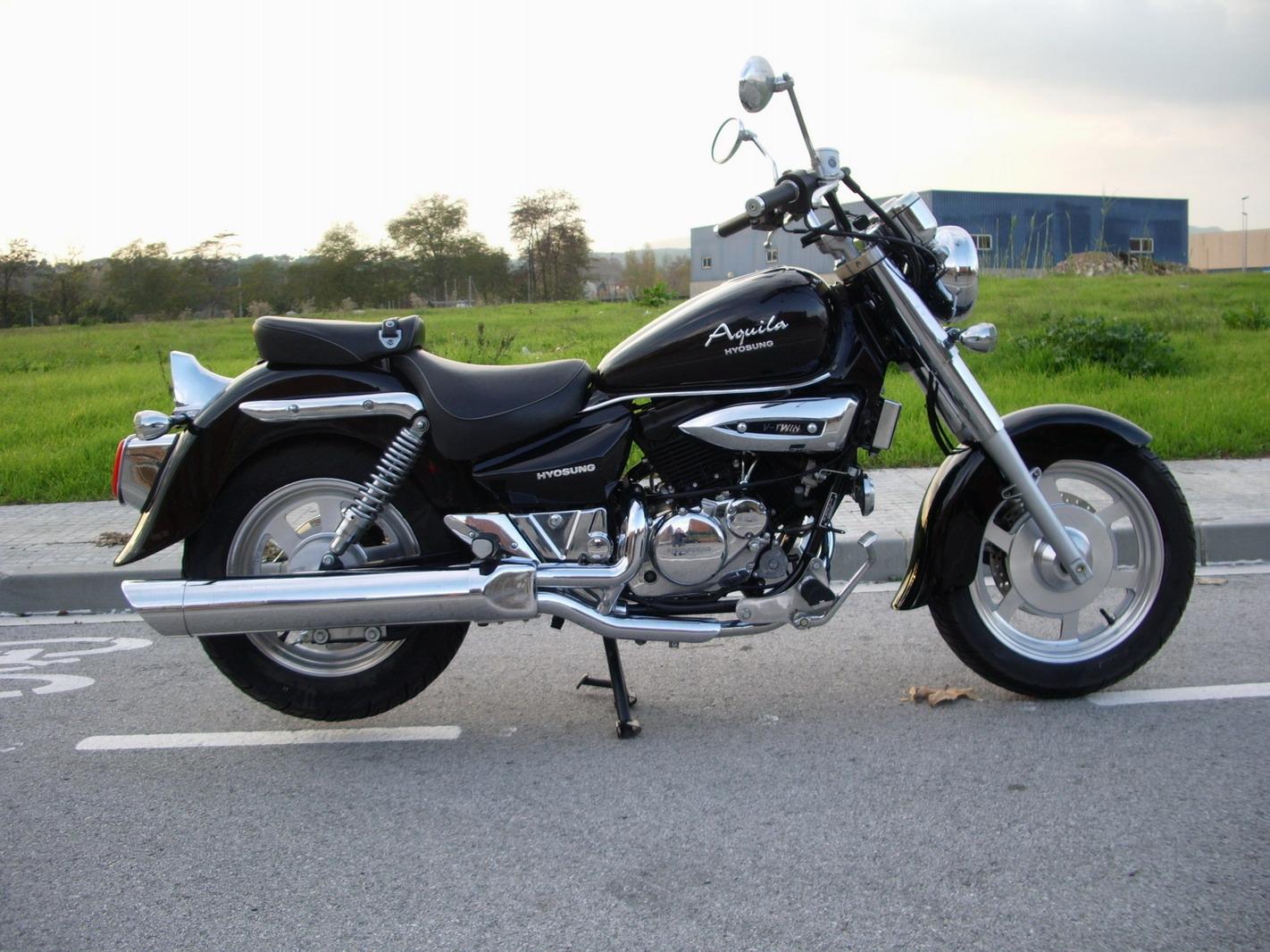 Seguro de moto HYOSUNG Aquila GV 125