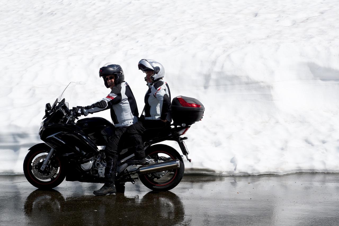 moto protegida con un seguro de moto
