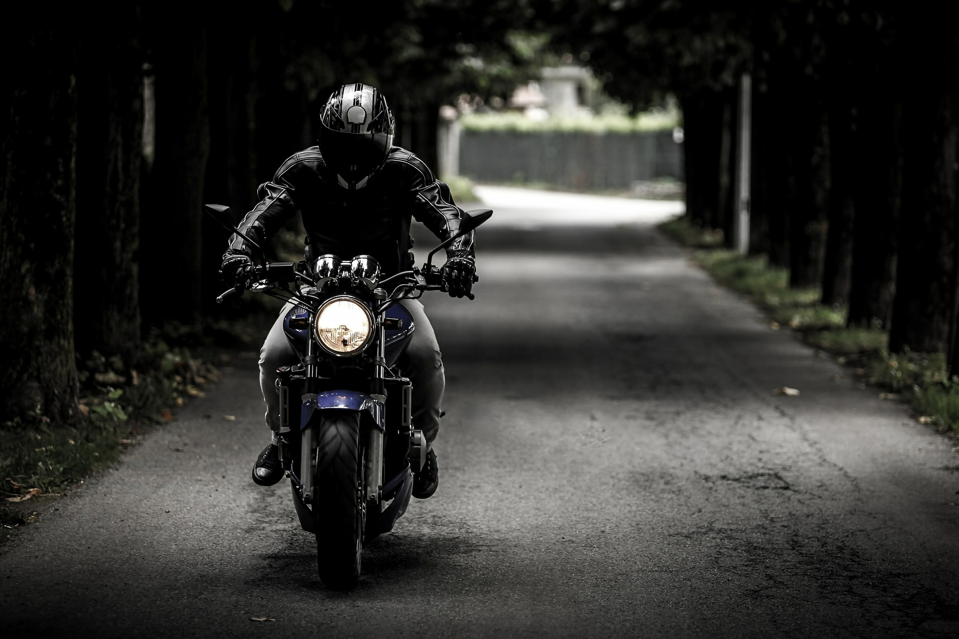 vehículo con seguro de moto