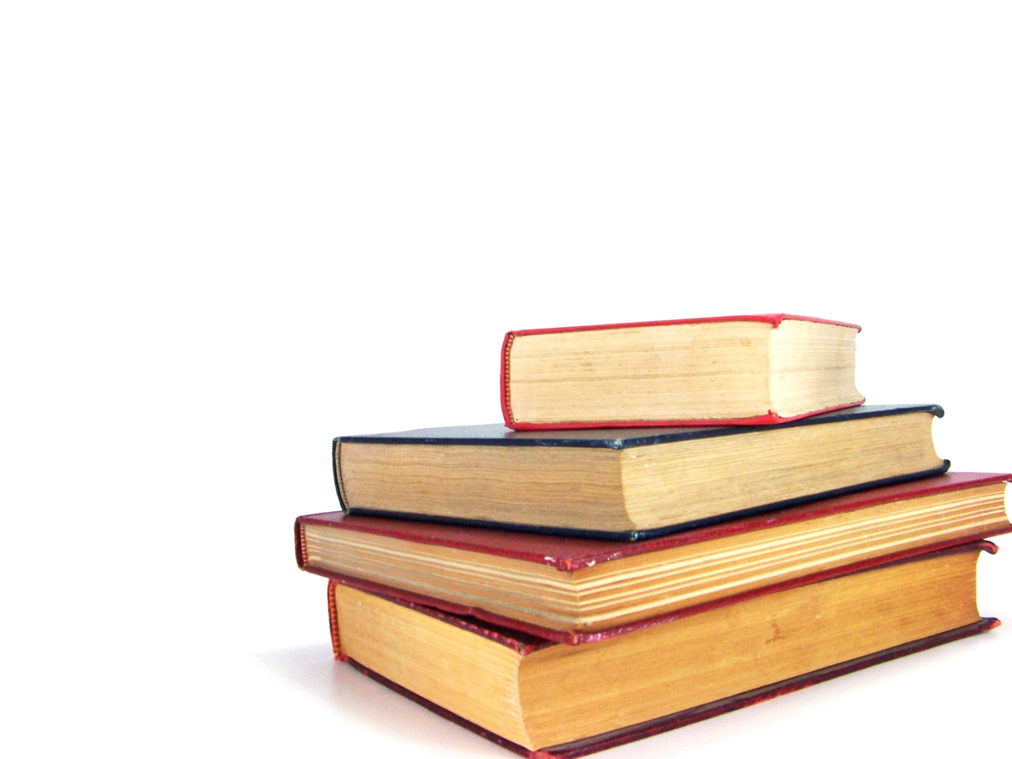 Libros comprados con un préstamo estudios