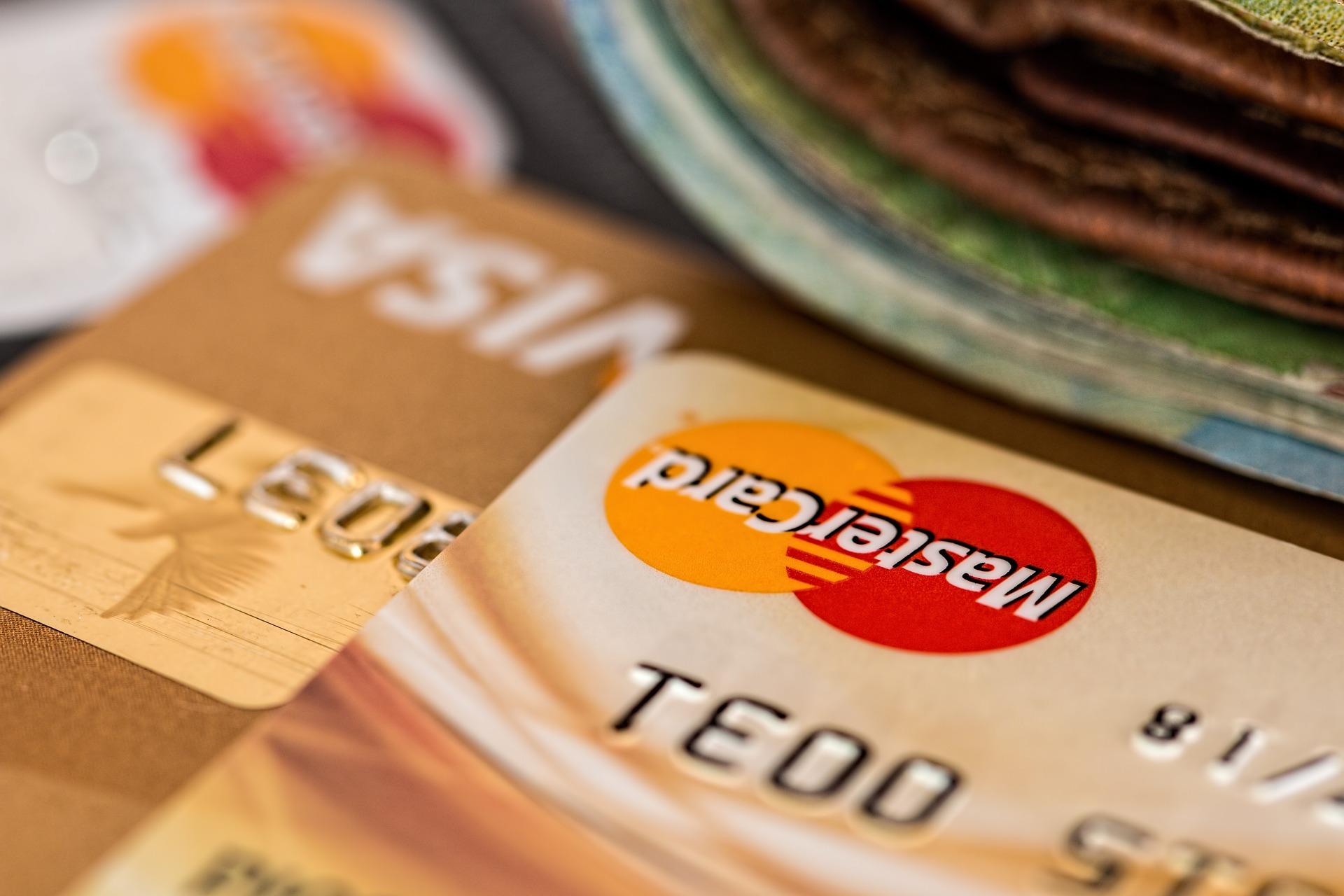 Visa Mastercard Tarjetas de crédito
