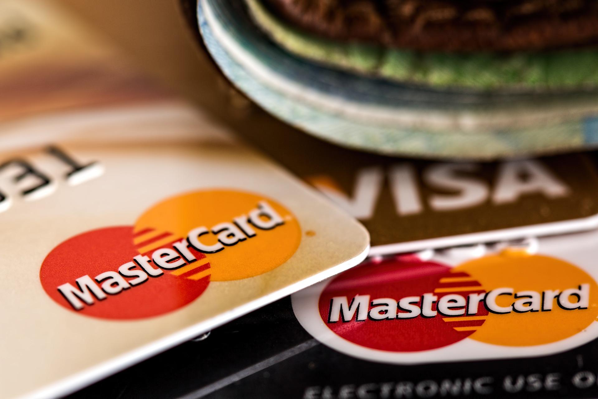 Tarjetas de débito Visa Mastercard