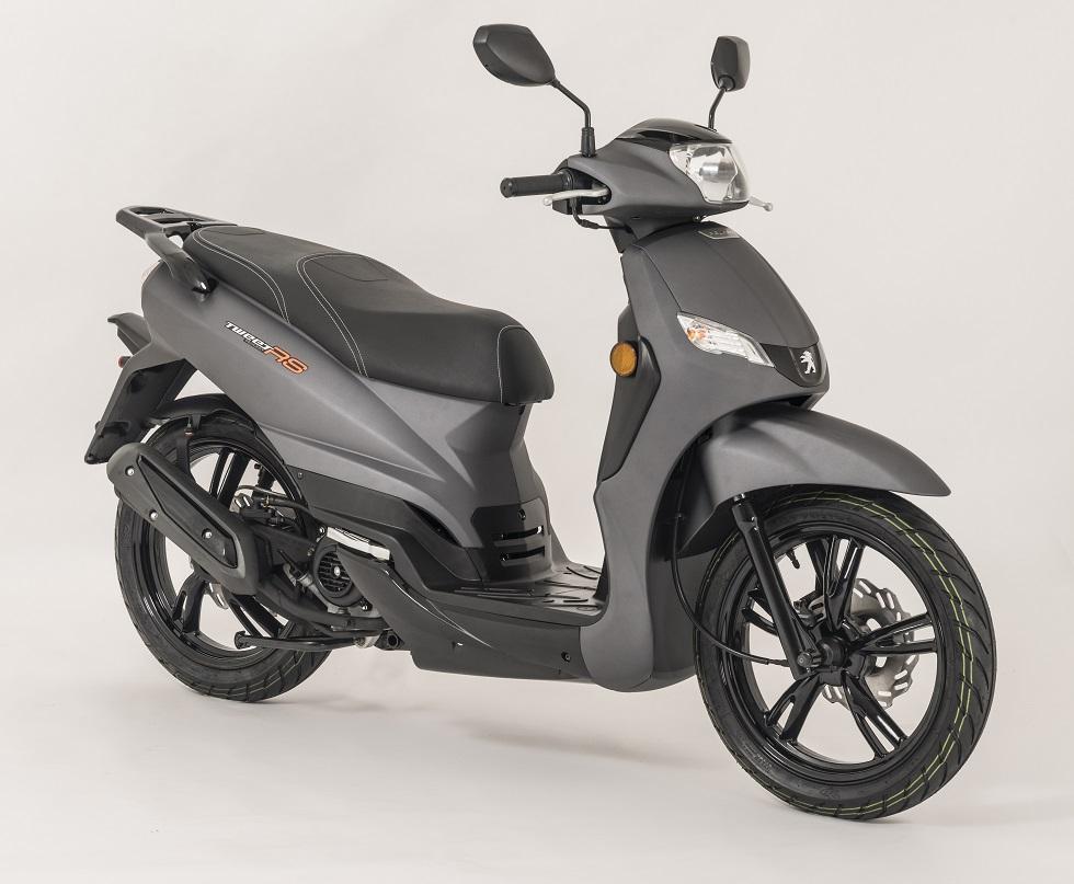 Motos más baratas: Peugeot Tweet Evo