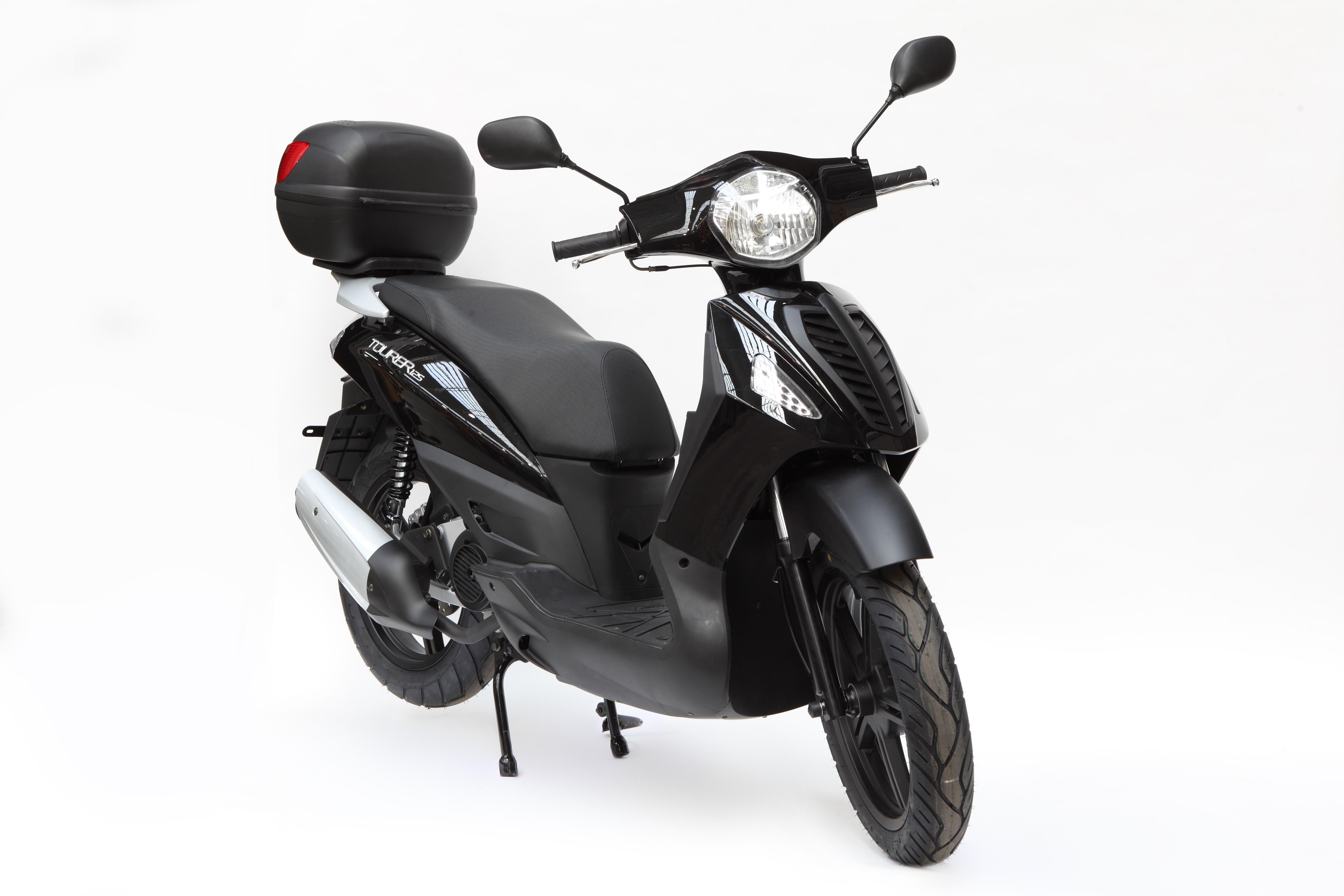 Las motos más baratas: Hanway tourer